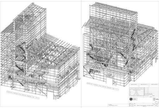 isometric framin plan